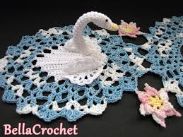 Image result for SWANS DOILY – FREE CROCHET PATTERN