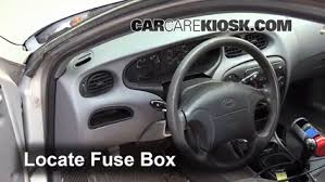 interior fuse box location 1996 2000 hyundai elantra 1999 Hyudnai Sonata Fuse Box Intrnal interior fuse box location 1996 2000 hyundai elantra