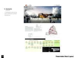 Presentation Board Template Interior Design Presentation Boardtri