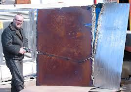 gahr steel wall art