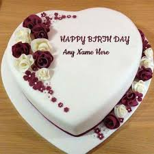 Birthday Name Cake Image Create With Name And Photo Online And