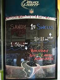 Galveston Tide Chart Water Condition Tide Chart 11 29 18 Fishing 61stpier