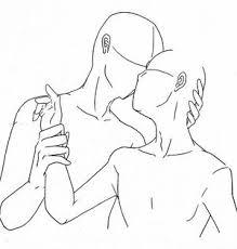 画像ツイッターでキス構図イラストが流行www Naver まとめ