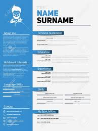 Free Visual Resume Templates Unique Sample Resume In Doc Format Free