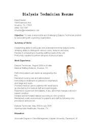 It Technician Resume Of For Download Tire Skills Mysetlistco Best Dialysis Technician Resume Pdf