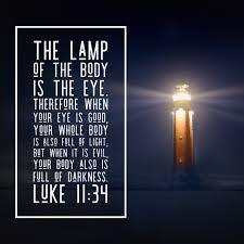 Light In The Darkness Bible Verse Luke 11 34 Body Full Of Light Free Art Download Bible