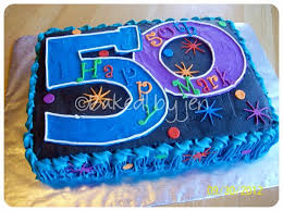 50th Birthday Cakes Ideas With Suitable Birthday Cake Theme Ideas