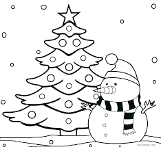 Christmas Tree Coloring Sheets Free Coloring Pages Christmas Tree