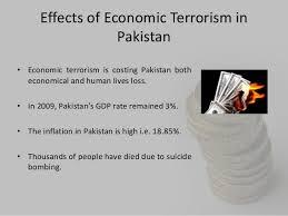 economic terrorism in  8 effects of economic terrorism in •