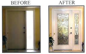 exterior door window inserts exterior door window inserts door inserts the most stained glass as well