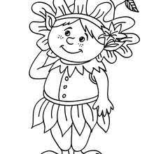 Elf Reading Coloring Pages Hellokidscom