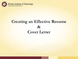 Effective Resume Creating An Effective Resume Cover Letter Ppt Download 64