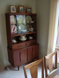 mid century modern dining room hutch. Its Appealing Mid-century Modern Style Echoes Our Larger Garrison Hutch Across The Room (see Below). Mid Century Dining E