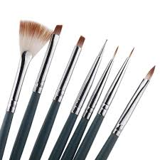 Professional Nail Art Brush Set (7 pcs) | Beauty Jubilee