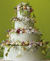 stunning floral wedding cakes