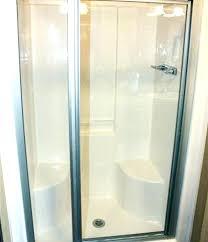 showers fiberglass shower enclosures stalls more interesting restoration of damaged based s like doors glass