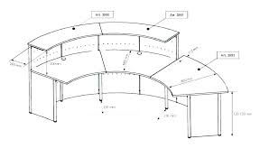 average desk dimensions typical office chair in mm full size of nice standard reception counter height