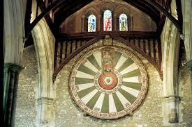 king arthur round table winchester cathedral hampshire