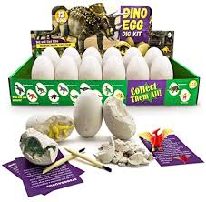 <b>Dino Egg</b> Dig Kit Dig and Discover <b>Dinosaur Eggs</b> Toys Fossil ...