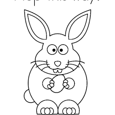 Coloring Pages Bunnyphoto Album Galleryfree Easter Bunny States