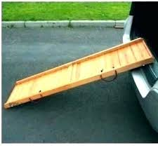 diy folding dog ramp for car outdoor stairs pet s over