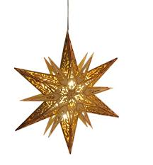 Weihnachtsstern Holzstern ø 30cm Stern Holz W Real