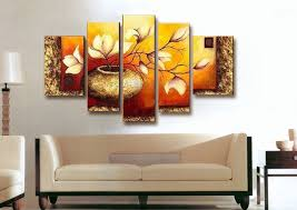 home decoration wall art hand painted multi panel canvas wall art sets oil painting on canvas