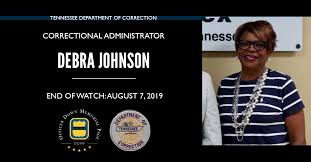 Correctional Administrator Debra Kay Porter-Johnson, Tennessee Department  of Correction, Tennessee