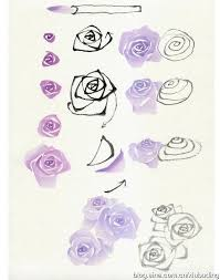 flowers painting tutorials in images 352 best watercolor images on drawing techniques water