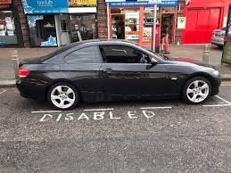 Coupe Series 320i bmw coupe : 2007 BMW COUPE 320i BLACK | in Barking, London | Gumtree