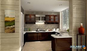 Kitchen Interior Design   Kitchen Interior  3D Perspective Images Of Kitchen Interiors