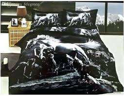 horse bedding full size whole black and white horse bedding comforter set sets queen size bedspread duvet cover bed sheet sheets quilt linen cotton