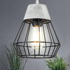 Decken Retro Hänge Lampe Industrie Vintage Design Strahler