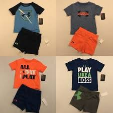 Under Armour Nwt Baby Boys Size 18 Months 2 Piece Shorts