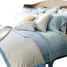 ralph lauren indochine linen cream blue linen 13pc cal king duvet cover set contemporary duvet cover