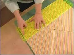 How to Make Quilts : How to Cut a Bias Binding - YouTube &  Adamdwight.com