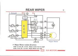 rear wiper motor kia owners club forums page 1 here is wiring diagram