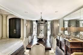 sunken formal dining room