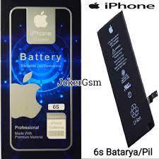 iPhone 6S Orjinal Güçlendirilmiş Batarya Pil A+Kalite Fiyatları ve  Özellikleri