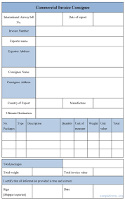 best ideas about invoice sample invoice example sample invoice form editable sample commercial invoice consignee form for only