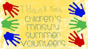 Summer Thank You Kids Summer Thank You 01 Kings Park International Church