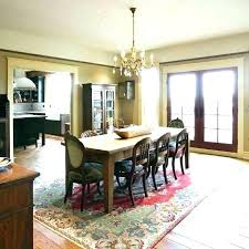 rug for round dining table under kitchen area s no room