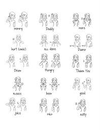 Baby Sign Language Chart Template Stunning Free Baby Signs Printable Great Way To Communicate With Baby We
