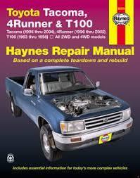 1993 toyota hilux t100 pickup fuse box diagram fuse diagram toyota tacoma 95 04 4 runner 96 02