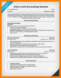 accounting resumes. 8 entry level accounting resumes business opportunity program