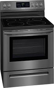 frigidaire 5 4 cu ft self cleaning freestanding electric convection range black ffef3056td best