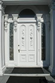 white single front doors. Interactive Various Cool Front Door Design For Porch And Decoration Ideas : Interesting White Single Doors T