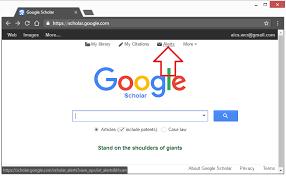 How To Subscribe Google Scholar Alert