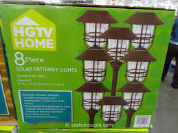 costco outdoor solar lights fresh solar pathway lights costco smart yard smartyard led pack 6pack