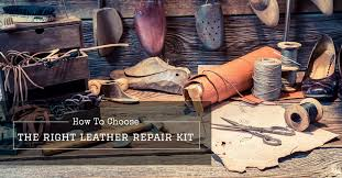 how to choose the right leather repair kit